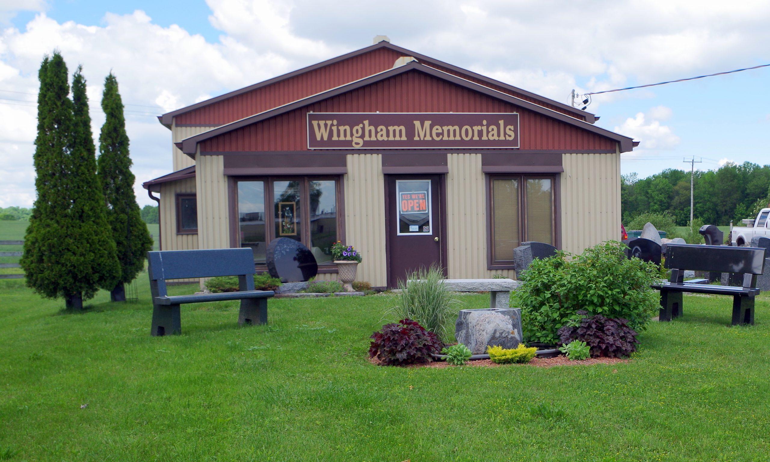 Wingham Memorials Storefront