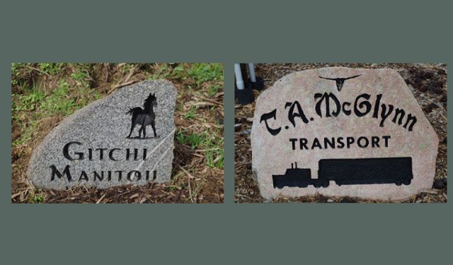 Driveway & Pet Markers